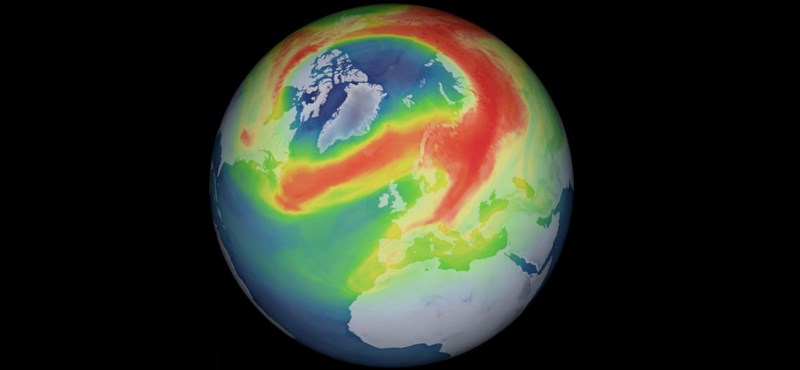 Bezárult végre a szokatlanul nagy ózonlyuk az északi-sarkkör felett