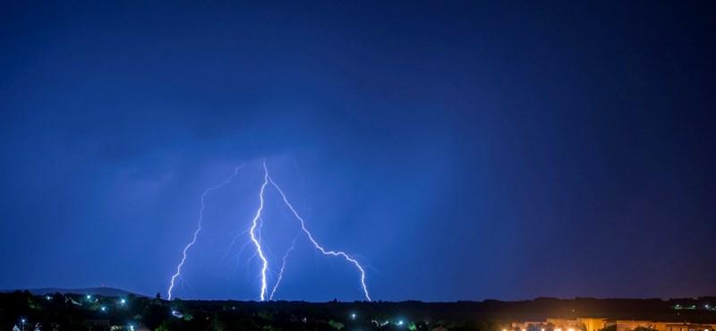Az egész országra figyelmeztetést adtak ki a viharok miatt