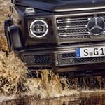 Az újra feltalált kocka: hivatalosan is itt a teljesen új Mercedes G-osztály