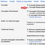 A chat-doboz eltávolítása a Gmailből
