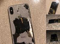 Frissítette az iPhone-ját, erre az kigyulladt