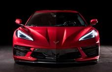 Csak jövőre jön Európába a legújabb, középmotoros Corvette