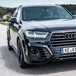 Gázolajos izompacsirta: Felmorcosították az Audi Q7-et