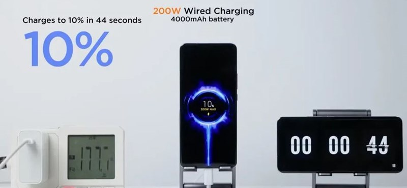 Xiaomi set a new record, with the phone charging to 100% in 8 minutes