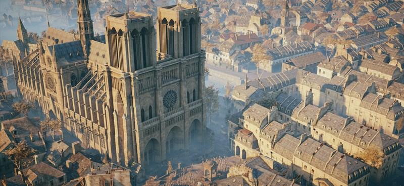 Ez a játék annyira részletes, hogy segíthet megmenteni a leégett Notre-Dame-ot