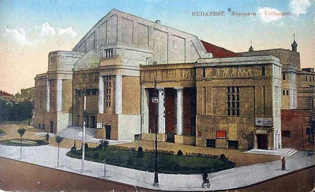 Erkel Színház - Nagyítás-fotógaléria - Népopera, 1910-es évek