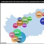 Térképre vitték a DRB-károsultakat – nézze meg, melyik pöttybe tartozik