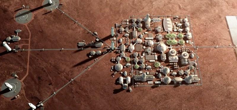 3,1 millió forintot kaphat, ha megtervez egy működő Mars-várost