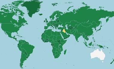 Megtaláljátok a térképen ezeket az országokat? Földrajzi játék
