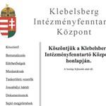 Béna és üres az új állami monstrum honlapja