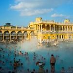 Fotó: a gőzölgő Széchenyi fürdőről posztolt képet a National Geographic