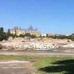 Videó: Már nyoma sincs a legendás Népstadionnak