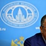 Megnevezte az orosz külügyminiszter országa fő ellenségét