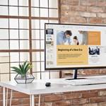 A Samsung ötlete a home office-hoz: okosmonitor, ami tévé is egyben