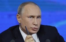 12 éves mélypontra esett a Putyin iránti bizalom