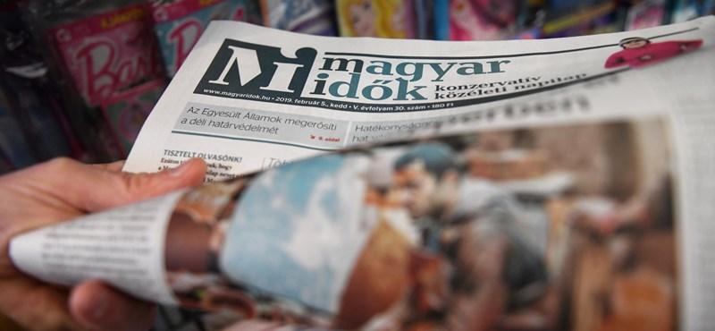 Bírókról hazudott a Magyar Idők, közel egymilliót kell fizetnie nekik