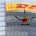 Drón vitte ki postás helyett a csomagot Bajorországban