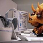 Dinoszauruszok és PC problémák