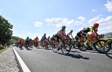 A rajtra várva törte el a lábát a Tour de Hongrie legpechesebb versenyzője