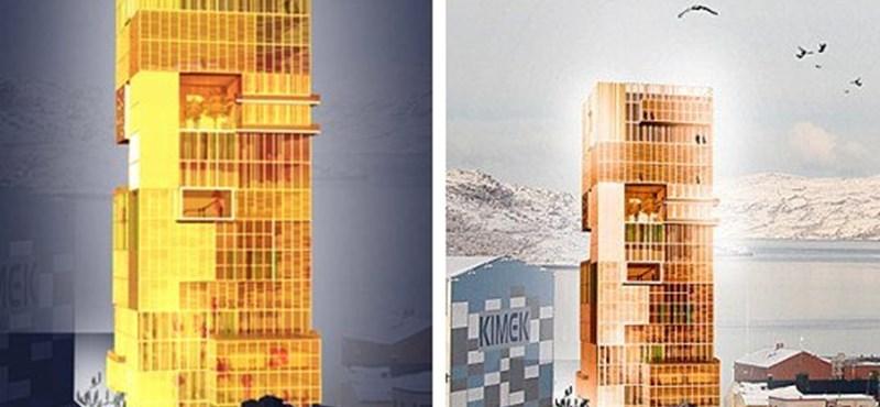 A világ legmagasabb fából készült épülete
