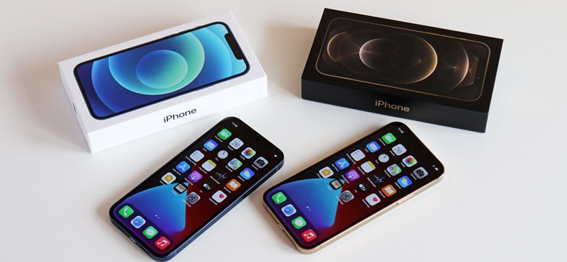 2020 talán legjobban várt mobiljai: teszten az iPhone 12 és 12 Pro
