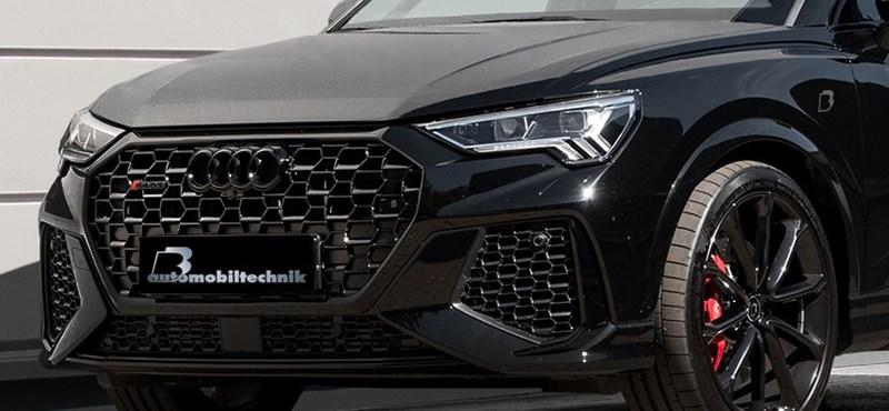 Közel 600 lóerős lett a Győrben gyártott kompakt szabadidő-autó, az Audi RS Q3