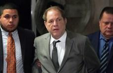 Mellkasi fájdalmakkal kórházba szállították a bűnösnek talált Harvey Weinsteint