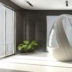 Orosz luxus: tojás alakú zuhanyfülke szupergazdagoknak