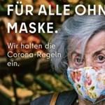 Hirdetésben intenek be Berlinben azoknak, akik nem viselnek maszkot