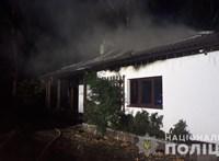 Felgyújtották a volt ukrán jegybankelnök családjának házát