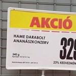 Helyesírási hiba az áruházban: megtaláljátok a bakit a fotón?