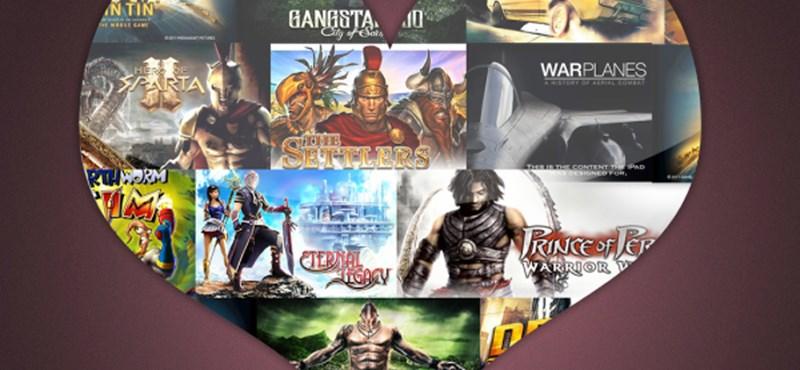 Valentin-napi kedvezmények a Gameloft játékokra!