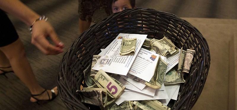 Letiltják a nem állami adományvonalakat
