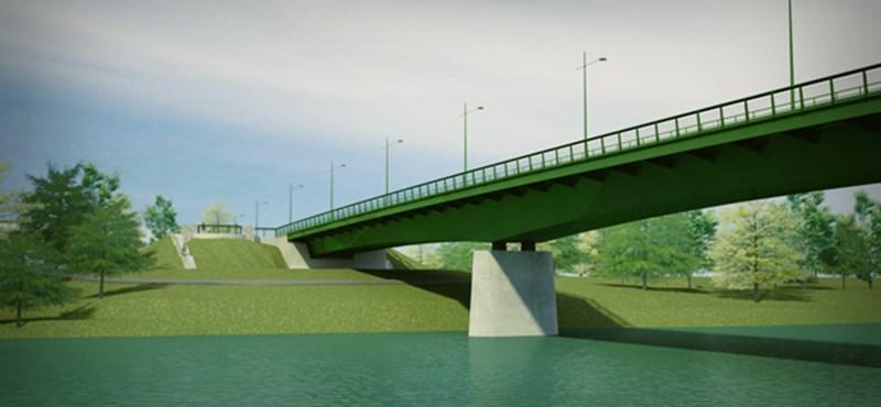 Vásárosnaménynál lesz lesz az új Tisza-híd. Képekkel!