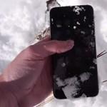 Mit gondol? Túléli az iPhone 6 Plus a hófogságot?