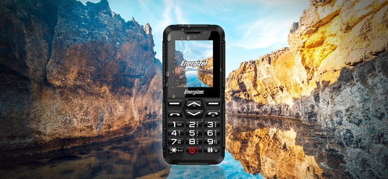 8000 forintért árulják az Energizer új telefonját, amit csak 5 naponta kell tölteni