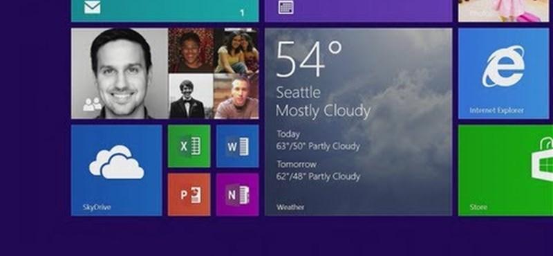 Új videón a már letölthető Windows 8.1