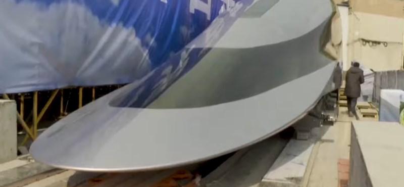 620 km/h-val zakatol az új kínai mágnesvasút, de még rátesznek egy lapáttal