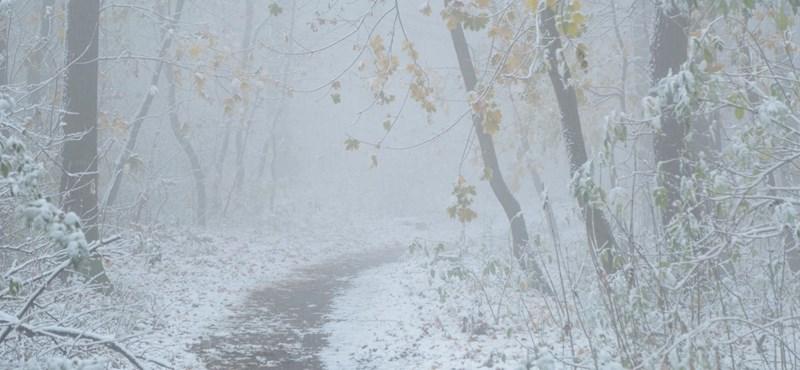 Megérkezett a havazás az országba
