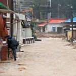 Lecsapott a Mitag tájfun Dél-Koreában, többen meghaltak