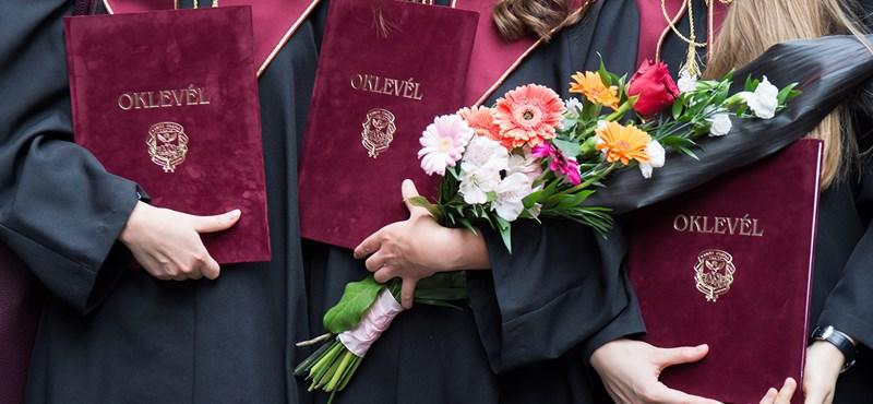 Hiába mondják, hogy túl sok a diplomás, valójában túl kevesen szereznek oklevelet
