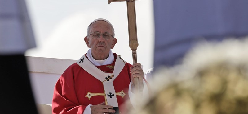 Ferenc pápa: A divatos homoszexualitásnak nincs helye az egyházban