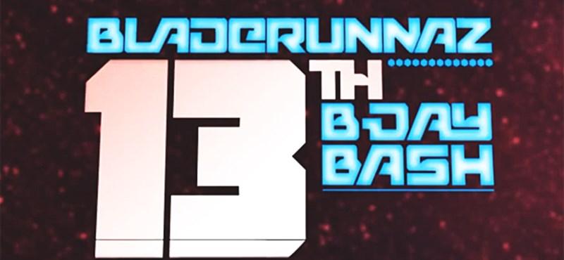 Budapest party: DJ Hype és Optical a Bladerunnaz 13. születésnapi buliján