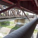 Fotók: Megnyílt a Rákóczi híd gyomra