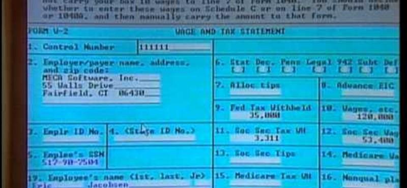 Érdekesség: így nézett ki egy adóbevallási szoftver 22 éve