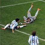 Németország 4-0-ra kiütötte Argentínát