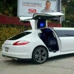 Luxuslimót szabtak egy Porsche Panamera S-ből
