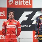 Vettel nem bízza el magát, Alonso tovább harcol