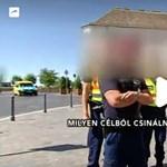Igazoltatták a Hír TV stábját a rendőrök a Várban