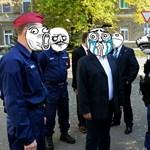 Jogerősen kaphatnak trollarcot a készenléti rendőrök